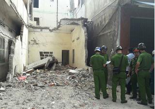 Sập sàn bê tông ở Bình Định: Nam công nhân bị cả khối sàn đè chết