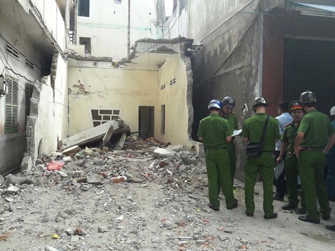 Hiện trường vụ sập sàn bê tông khiến nam công nhân tử vong