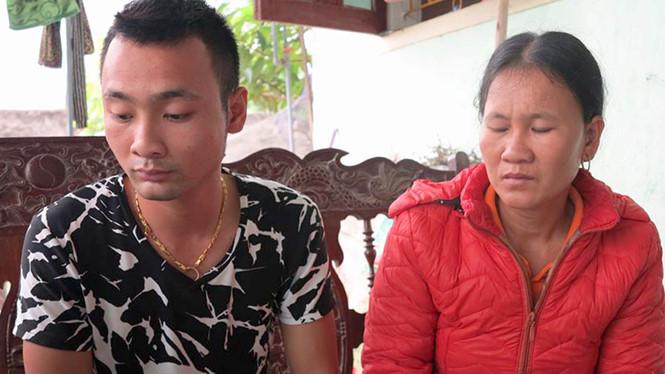 Anh Nguyễn Xuân Quang, bố đẻ của bé sơ sinh tử vong ở Nghệ An