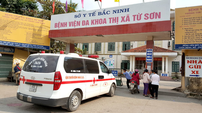 Trước đó ở BVĐK Từ Sơn (Bắc Ninh) cũng xảy ra sự việc bé tử vong bất thường