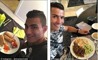 Chuyện ít ai ngờ về cuộc sống của bản sao Ronaldo