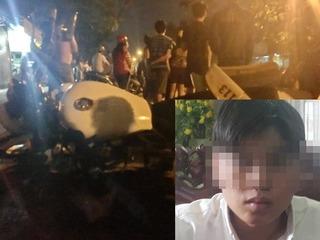 """Nghi án cảnh sát 113 gây tai nạn ở Đồng Nai: """"Có một lực tác động vào xe tôi"""""""