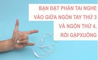 Mẹo gỡ rối và cuộn tai nghe cực nhanh, không bị đứt hỏng