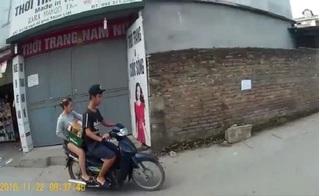 Đôi nam nữ ngang nhiên cướp giữa ban ngày, trong khu đông dân cư
