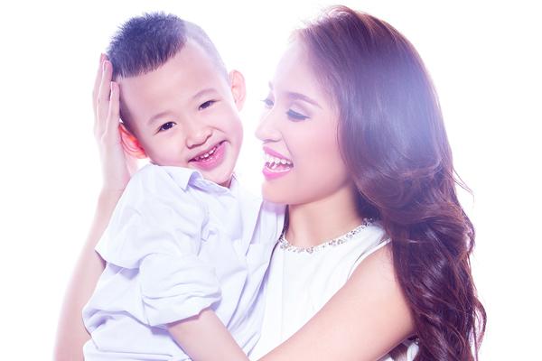 Với Thanh Vân Hugo hiện giờ, động lực lớn nhất chính là con trai mình