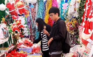 Thị trường trang trí Giáng sinh 2016 xuất hiện nhiều đồ Thái Lan