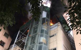 Cháy lớn ở chung cư Xa La: Đã khống chế được ngọn lửa hung hãn