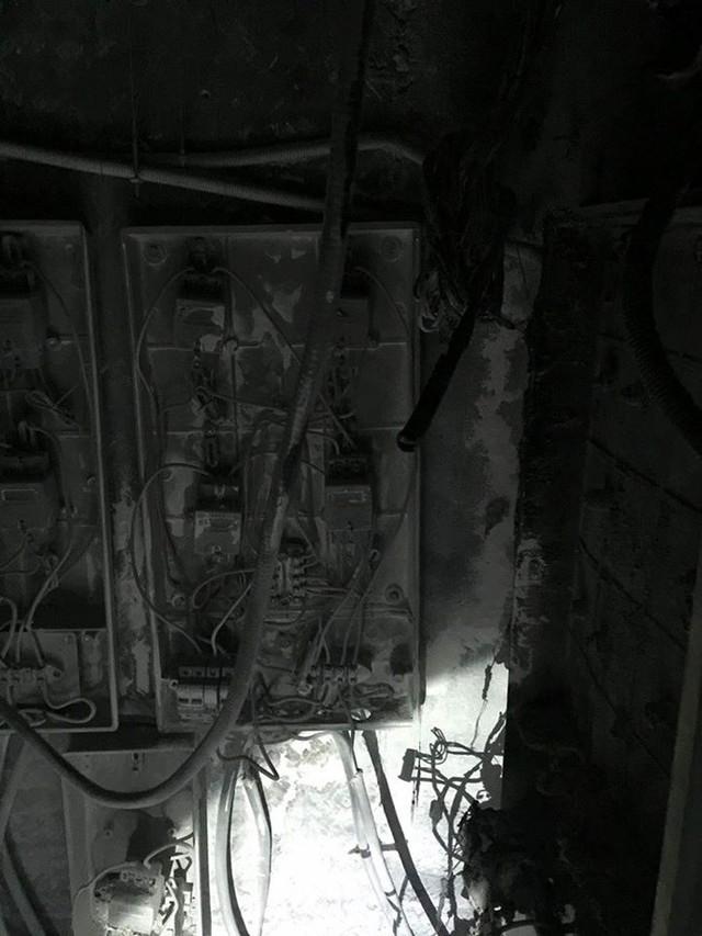 Cháy chung cư Xa La 2