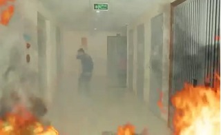 Xem ngay clip này để biết cách thoát khỏi đám cháy ở chung cư cao tầng