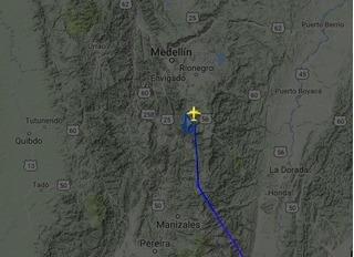 Hành động anh hùng của phi công trước phút máy bay rơi ở Colombia