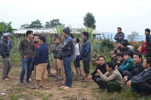 Hiện trường vụ thảm sát ở Hà Giang vào sáng 1/12/2016 1