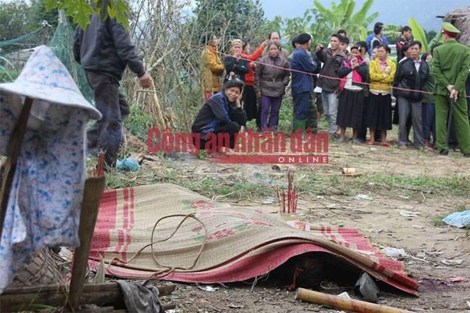 Thảm sát tại Hà Giang hiện trường vụ án