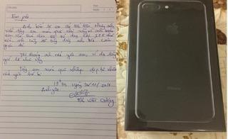 Thương vợ dùng chiếc iPhone 5 nhỏ xíu, anh chồng tặng món quà bất ngờ