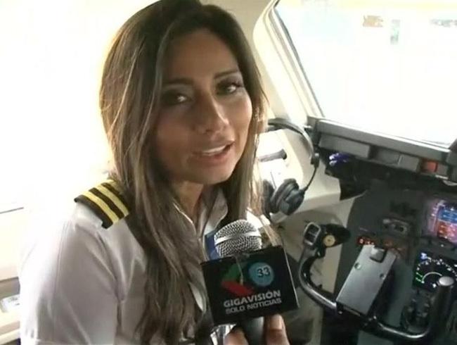 Phi công phụ Sissy Arias của chuyến bay chở đội bóng Brazil rơi ở Colombia