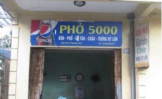 Bát phở bò Thành Nam: