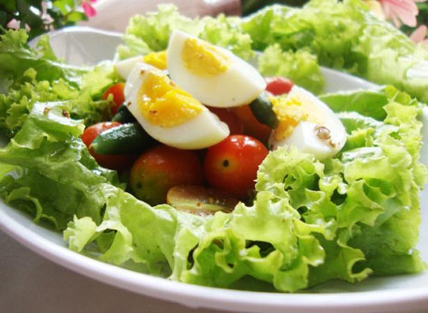 Trứng luộc giảm cân cực hiệu quả