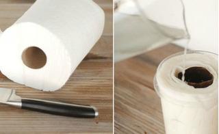 Đổ giấm lên giấy vệ sinh, bà nội trợ khó tính nhất cũng phải hài lòng
