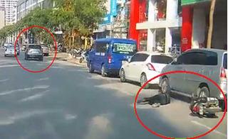 Ô tô Mazda gây tai nạn rồi bỏ trốn ở Hà Nội: Tài xế là phó giám đốc doanh nghiệp