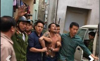 Hà Nội: Nam thanh niên ngáo đá, ra khu nghĩa địa đập phá