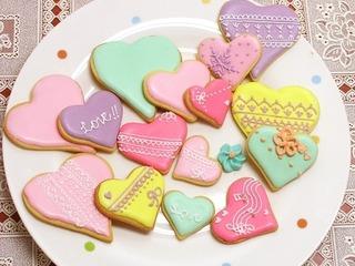 Cách làm bánh cookie trái tim tặng đồng nghiệp dịp Giáng sinh
