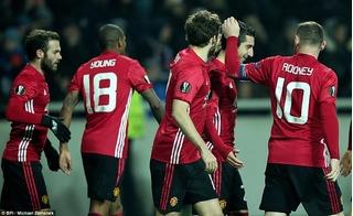 Tân binh nổ súng, Man United vượt qua vòng bảng Europa League