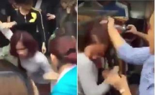 Trộm điện thoại iPhone 6 ở chợ Ninh Hiệp, cô gái bị cả chục người vây đánh tả tơi
