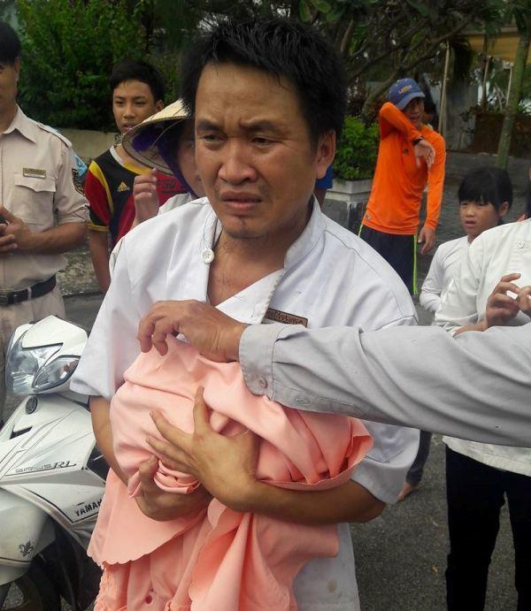 bé sơ sinh bị bỏ rơi ở thùng rác tại Đà Nẵng
