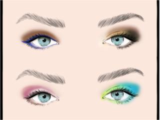 Đánh bóng mắt hiệu quả bạn cần lựa chọn đúng gam màu cho mình