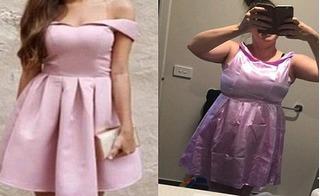 Những thảm họa mua quần áo qua mạng khiến