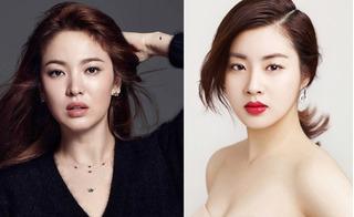 Vừa công khai hẹn hò, Kang Sora đã bị chê không sánh bằng tình cũ của Hyun Bin