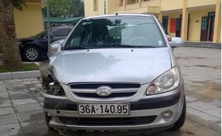 Thanh Hóa: Trưởng phòng Nông nghiệp gây tai nạn khiến 3 người thương vong