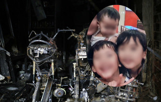 Nước mắt rơi với cảnh đến chết vẫn ôm chặt vợ con trong vụ cháy nhà ở TP.HCM