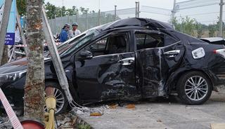 Chánh Thanh tra Sở NN-PTNT chết kẹt trong xe sau tai nạn kinh hoàng