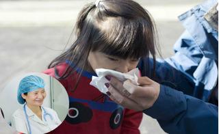 Bác sĩ tư vấn cách xì mũi đúng cách để trẻ không bị viêm xoang, điếc tai