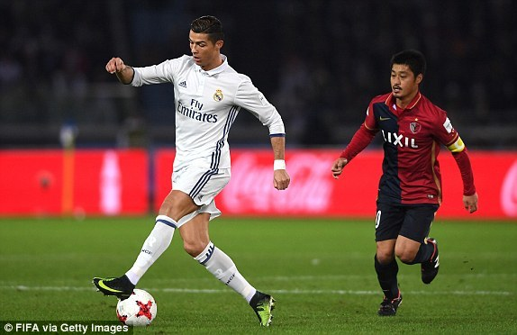 Ronaldo lập hat-trick ở trận chung kết FIFA Club World Cup 2016