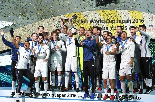 Real Madrid vô địch FIFA Club World Cup 2016