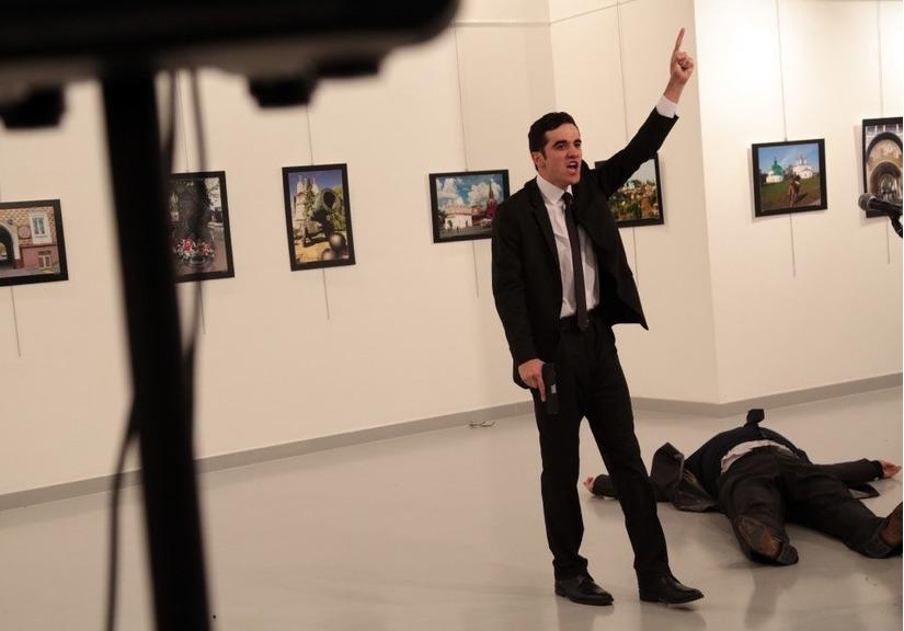 Đại sứ Nga bị ám sát tại Thổ Nhĩ Kỳ 1