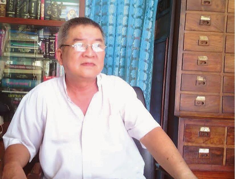 Lương y Phạm Như Tá. Ảnh nhân vật cung cấp