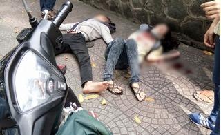 Mâu thuẫn tình cảm, nam thanh niên đâm gục bạn gái trên phố rồi tự sát