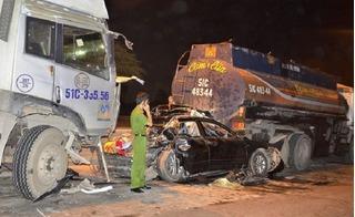 Tai nạn liên hoàn trên cầu Phú Mỹ: Tài xế kinh hoàng nhớ cảnh 4 ô tô nát bét
