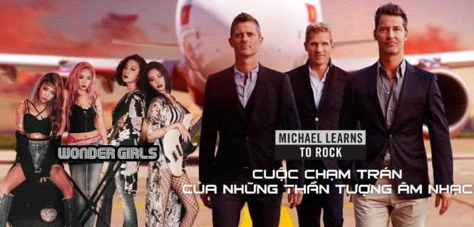 Wonder Girls và Michael Learns To Rock đến Việt Nam 1