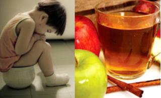Công thức nước uống cực dễ làm đánh bay táo bón cho người lớn và trẻ nhỏ