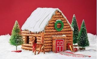 Cách làm ngôi nhà bánh gừng cho bé yêu Giáng sinh ngọt ngào