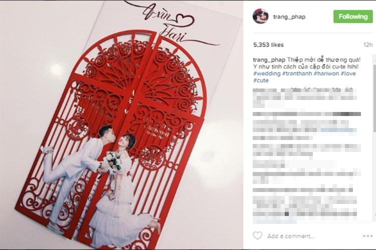 Đám cưới Trấn Thành và Hari Won 10