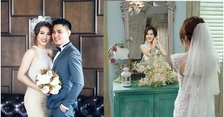Ngắm bộ ảnh cưới đẹp lung linh của cặp đôi yêu qua Facebook Khả Bằng - Minh Thư