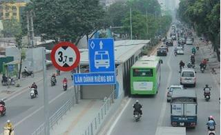 Đường thông hè thoáng, xe buýt nhanh vẫn không thể nhanh hơn