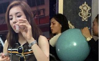 Hoa hậu Kỳ Duyên nói gì sau scandal hút thuốc lá, thổi bóng cười?