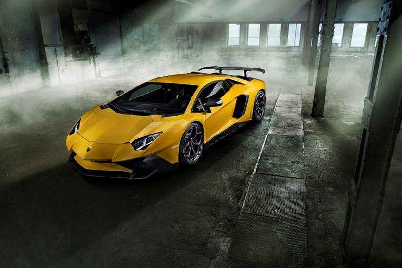 Siêu xe Lamborghini Aventador SV 1