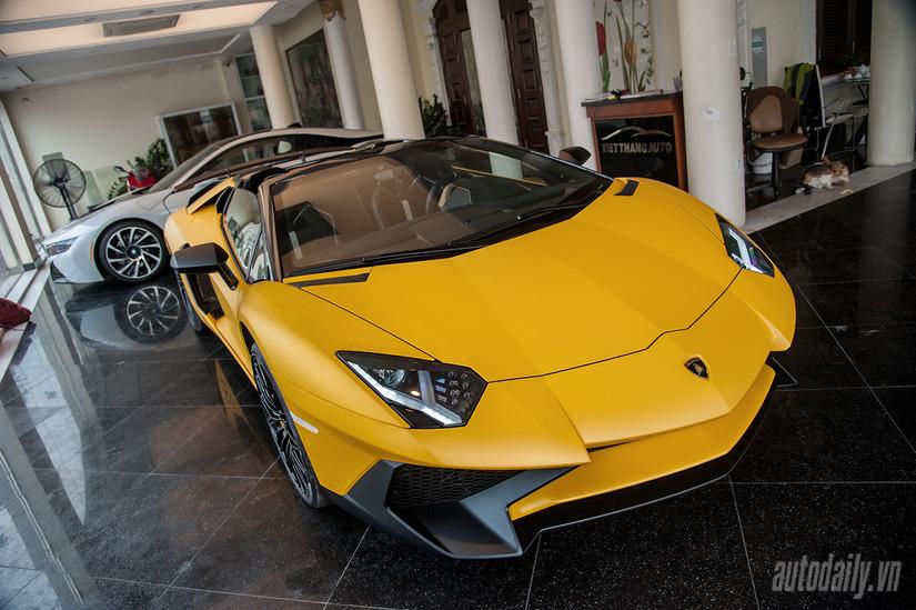 Siêu xe Lamborghini Aventador SV 3