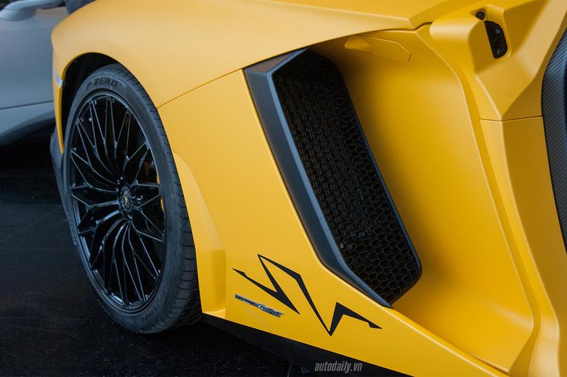 Siêu xe Lamborghini Aventador SV 5